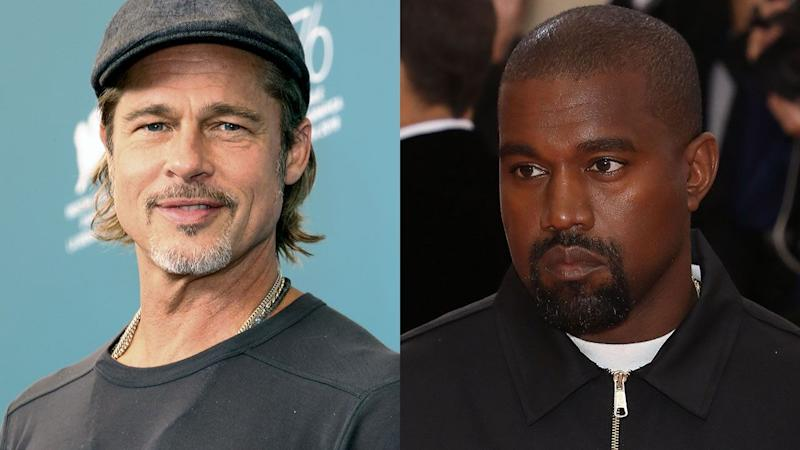 Brad Pitt on Kanye West's Sunday Service: 'I Think He's Doing Something Really Special' (Exclusive)