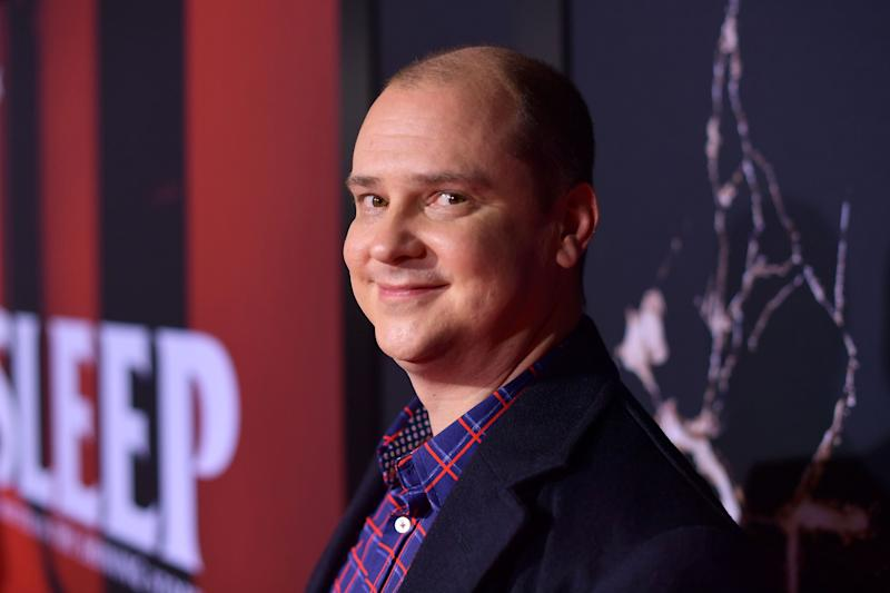 "Mike Flanagan attends the premiere of Warner Bros Pictures' ""Doctor Sleep"" at Westwood Regency Theater on October 29, 2019. (Photo by Matt Winkelmeyer/Getty Images)"