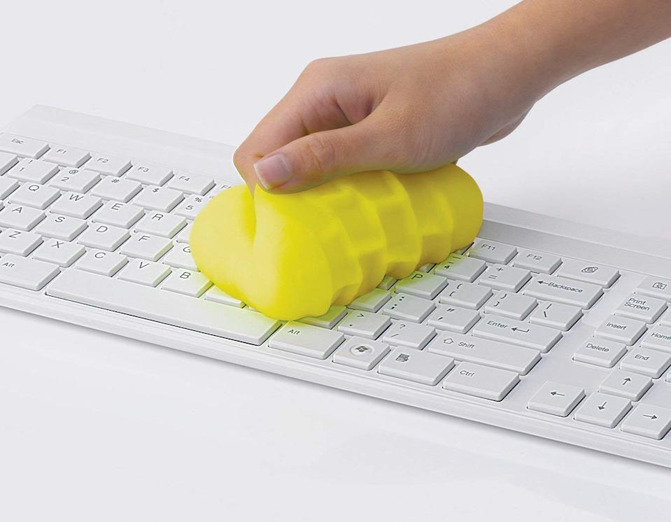 The cleaning gum will throughly sanitize all your devices. (Amazon)