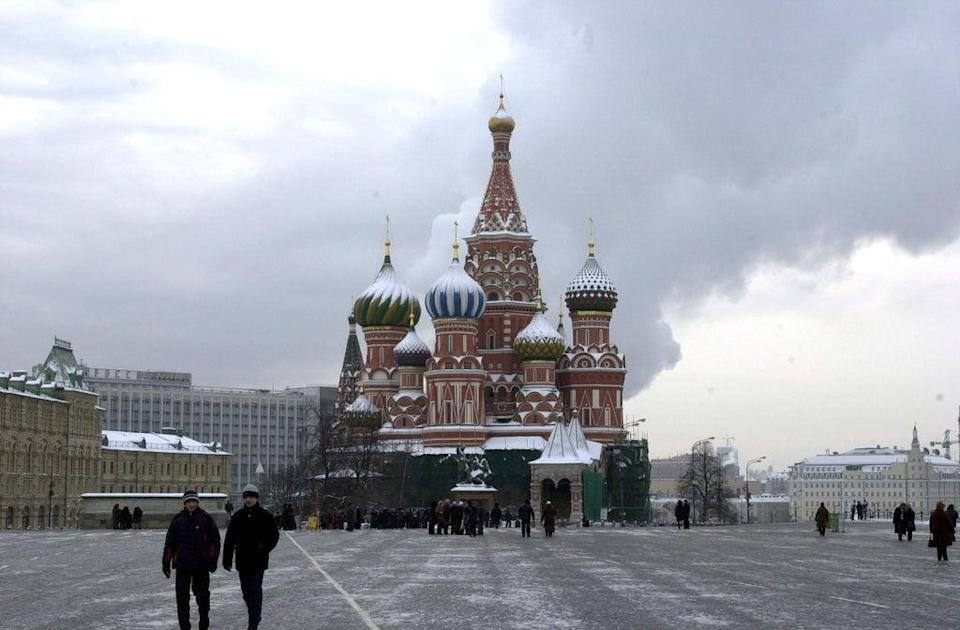St Basil's Cathedral, in Moscow's Red Square (Ian Nicholson/PA) (PA Archive)