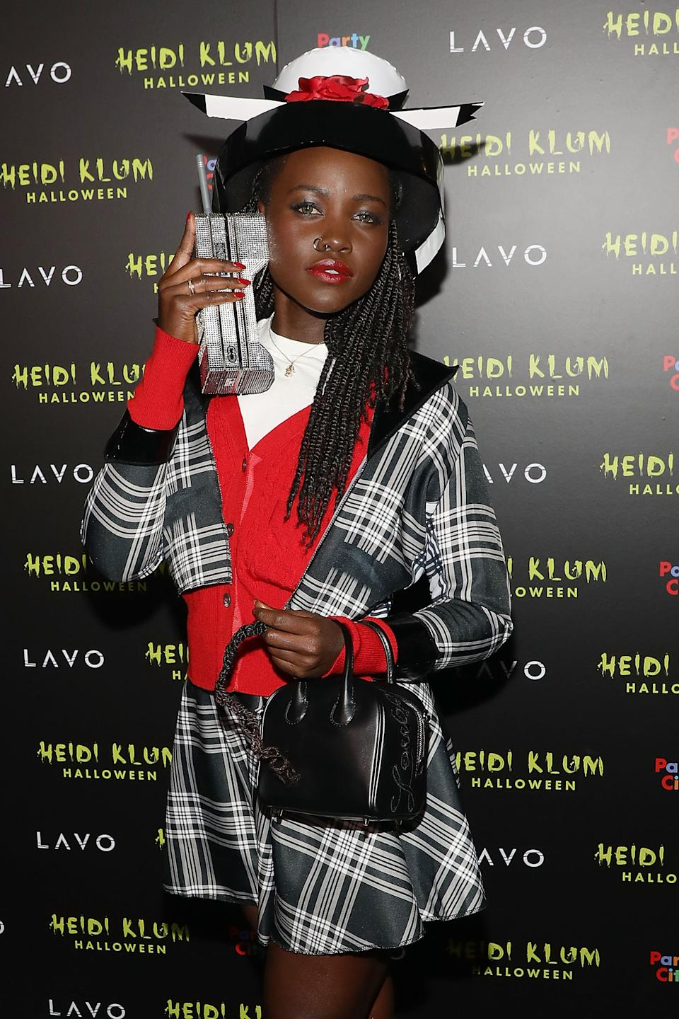 Lupita Nyong'o dresses as Clueless for Halloween