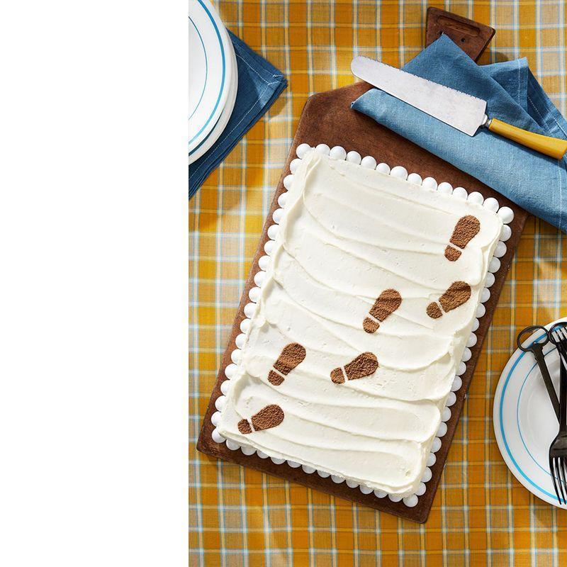 """<p>There's no better way to tell Dad that you've always followed in his footsteps than with this malted chocolate cake.</p><p><strong><em>Get the recipe from <a href=""""https://www.countryliving.com/food-drinks/recipes/a44611/malted-sheet-cake-recipe/"""" rel=""""nofollow noopener"""" target=""""_blank"""" data-ylk=""""slk:Country Living"""" class=""""link rapid-noclick-resp"""">Country Living</a>.</em> </strong></p>"""