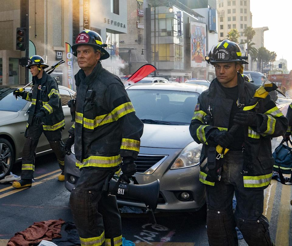 When we catch up with the 118 in the 9-1-1Season 5 premiere, the team is dealing with a citywide blackout. This massive emergency is set to span the first three episodes of the new season, which will have everyone dealing with a whole host of problems. Meanwhile, Athena is confronted with her attacker again, who she caught and arrested in Season 3.When it returns:Sept. 20 on FoxWatch the new season trailer here