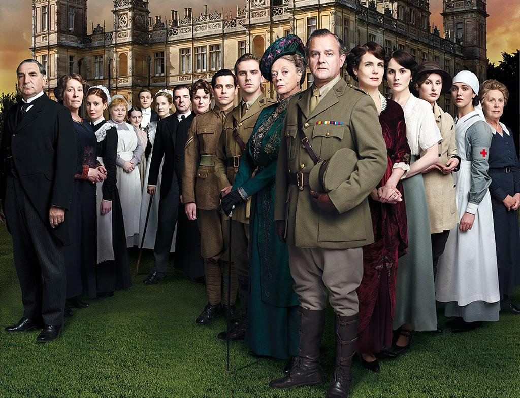 Downton Abbey - All day marathon with a new episode at 9 PM EST – PBS