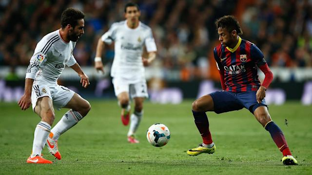 Real Madrid are linked with a move for Neymar and defender Dani Carvajal would sign the Brazilian.