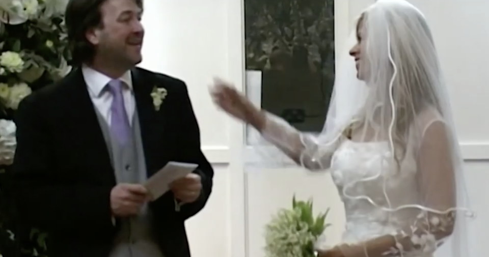 'Kate Garraway shares footage from their wedding day in new documentary. (ITV)'