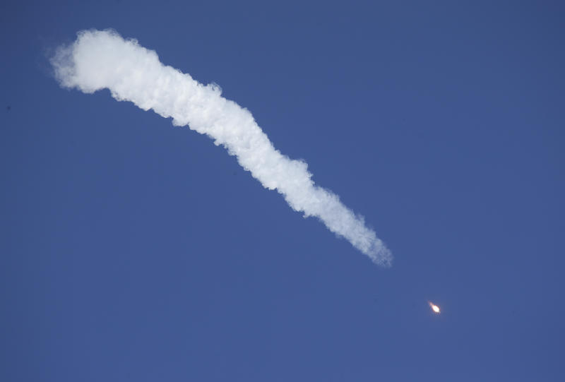 U.S., Russian Space Crew Heading Back To Earth After Booster Failure