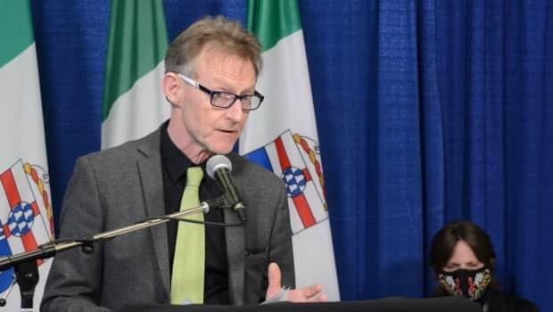 Yukon Chief Medical Officer Dr. Brendan Hanley Hanley said the time is right for the next territorial government to renew efforts to address the opioid crisis, and to try new approaches — including safe consumptionsites. (Philippe Morin/CBC - image credit)