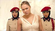 <p>Ronda Rousey had made several film cameos around the time she starred in <em>Fast and Furious 7 </em>(<em>Entourage</em> anyone?). But the action film<em>, </em>where she played Kara, was one of her bigger parts. </p>