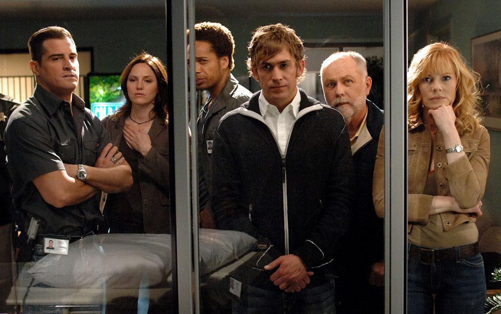 The cast of CSI: Criminal Scene Investigation on CBS.