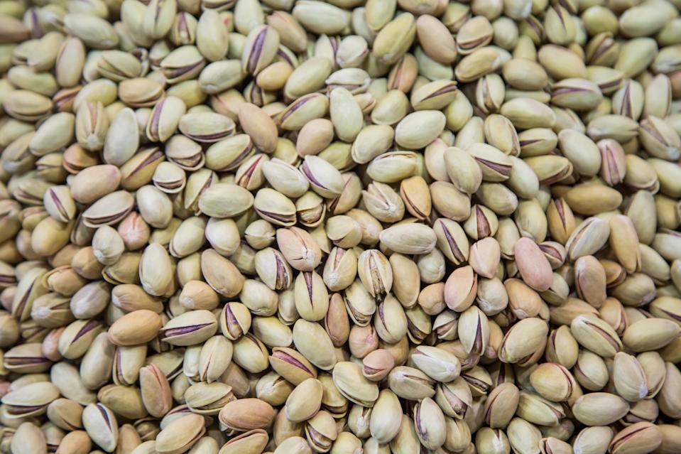 Pistachio nuts are a great source of healthy fat [Photo: Getty]
