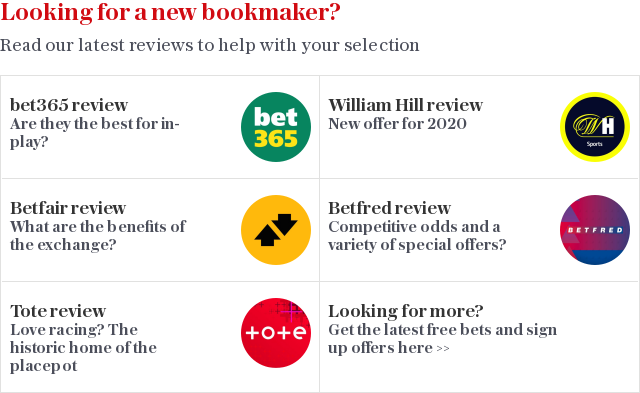 Looking for a new bookmaker?