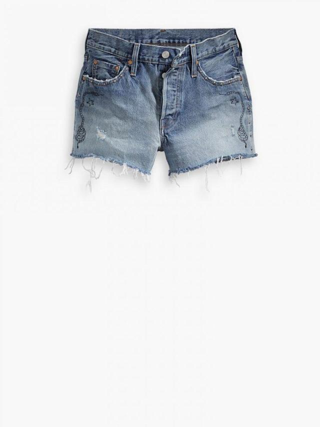 Levi's Limited Edition Women's 501 Shorts. (Courtesy of Levi's)