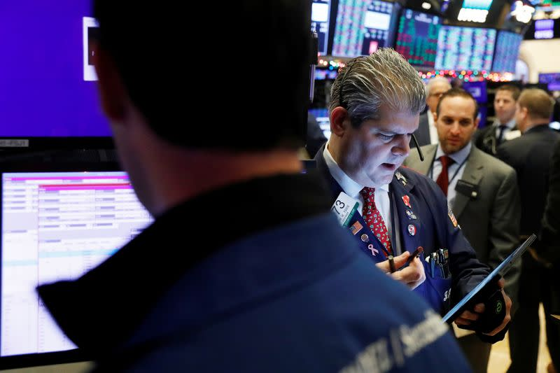 Wall Street dips at open on weak Chinese data; tariff deadline looms