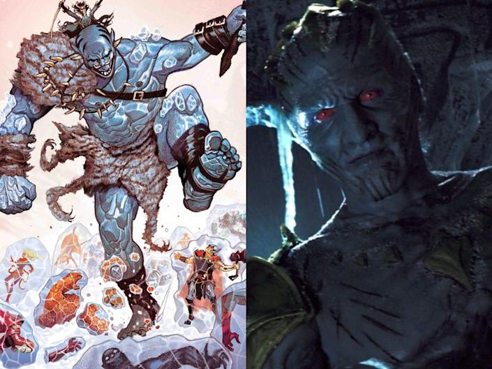 laufey in the comics and the mcu