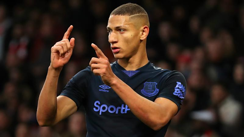 'Drogba scored 29, so Richarlison should target 30' - Ancelotti challenges Everton striker to improve goals output