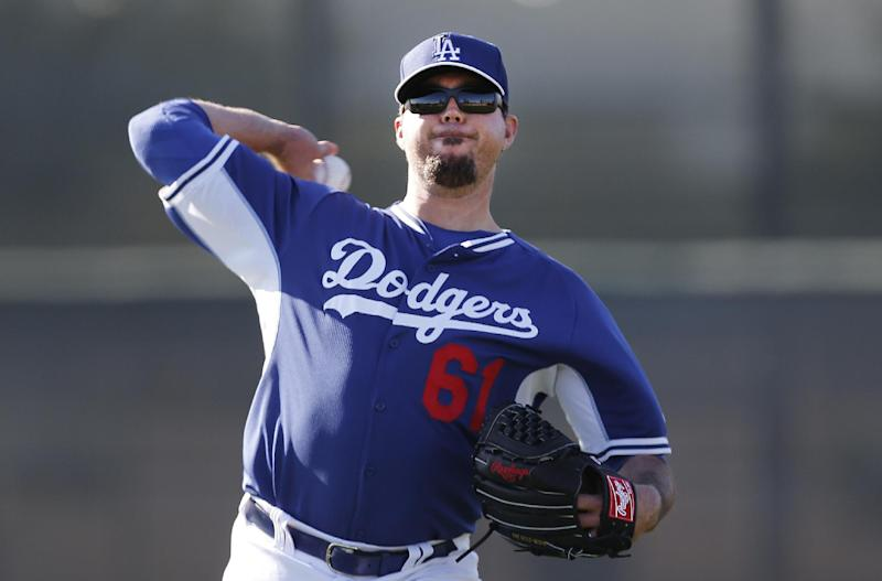 Dodgers' Beckett says he'll be ready for season