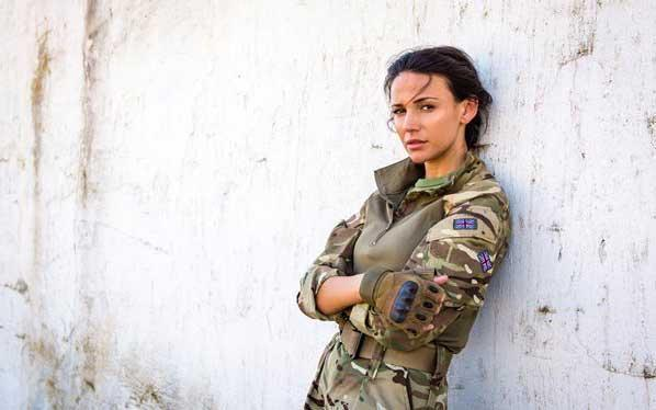 Michelle Keegan in Our Girl/ITV