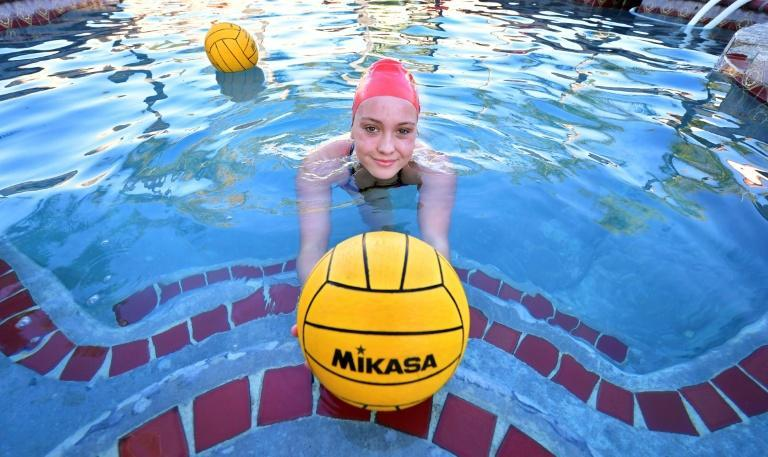 High school water polo player Cami Rowan is one of millions of student athletes who has struggled to cope with California's strict sporting lockdown during the pandemic