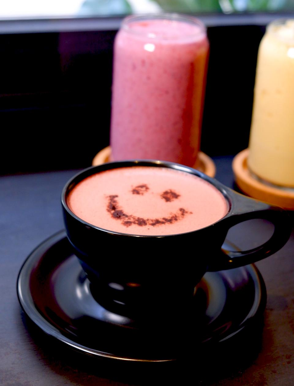 Beetroot Cacao Latte($50)