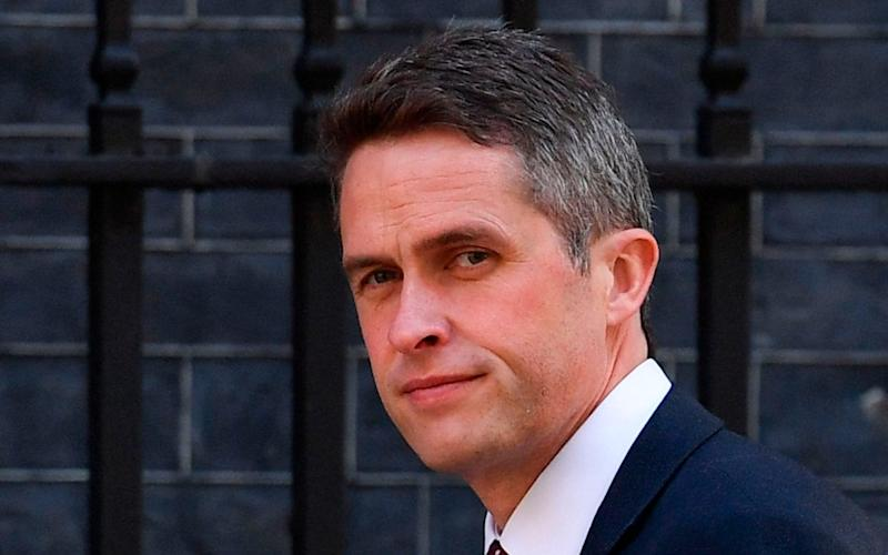Mr Williamson, pictured today, told MPs: