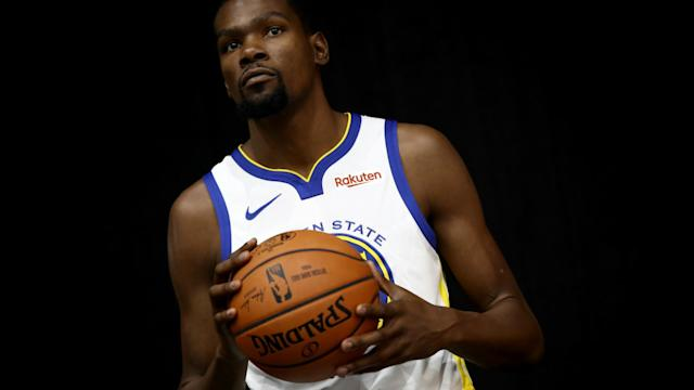 Durant said he deserves a massive deal, like several players around the league have received.