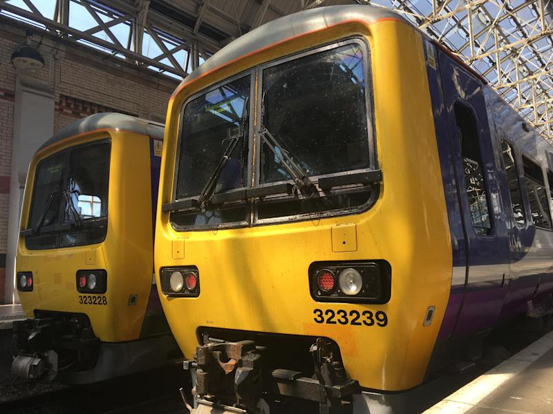 Going places? Northern Rail is one of several train operators to make widespread cancellations, with travellers to and from Manchester badly affected: Simon Calder