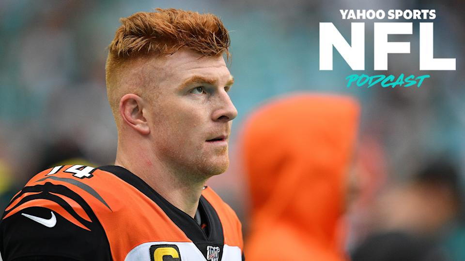 Terez Paylor & Charles Robinson discuss what is next for Andy Dalton and the Dallas Cowboys on the latest Yahoo Sports NFL Podcast. (Photo by Mark Brown/Getty Images)