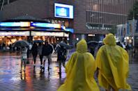 Storm Ida has brought heavy rain to the northeast United States (AFP/Angela Weiss)