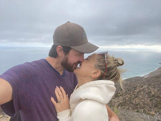 """<p>The actress and boyfriend Danny announced they were engaged with a sweet Instagram post on 13 September. """"Let's go! 👰♀️💒🤵🏻♂️"""" she shared with her followers, before hitting the Met Gala in an all-pink Michael Kors <a href=""""https://www.cosmopolitan.com/uk/fashion/celebrity/g37581121/met-gala-2021-red-carpet/"""" rel=""""nofollow noopener"""" target=""""_blank"""" data-ylk=""""slk:ensemble hours later"""" class=""""link rapid-noclick-resp"""">ensemble hours later</a>. Amazing!</p><p><a href=""""https://www.instagram.com/p/CTxgo2IJ_2s/"""" rel=""""nofollow noopener"""" target=""""_blank"""" data-ylk=""""slk:See the original post on Instagram"""" class=""""link rapid-noclick-resp"""">See the original post on Instagram</a></p>"""