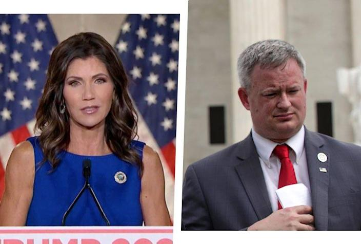 Kristi Noem and Jason Ravnsborg
