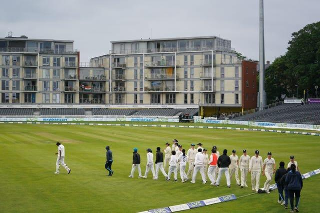 Both sides shared two points in the standalone Test match of the series