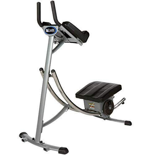 """<p><strong>Ab Coaster</strong></p><p>amazon.com</p><p><strong>$299.00</strong></p><p><a href=""""https://www.amazon.com/dp/B000VR3WW0?tag=syn-yahoo-20&ascsubtag=%5Bartid%7C2140.g.32840936%5Bsrc%7Cyahoo-us"""" rel=""""nofollow noopener"""" target=""""_blank"""" data-ylk=""""slk:Shop Now"""" class=""""link rapid-noclick-resp"""">Shop Now</a></p><p>This machine's freestyle swivel seat allows you to target your obliques without doing a million bicycle crunches. To intensify your workout, you can switch up the weight plates to make your moves more challenging. </p>"""