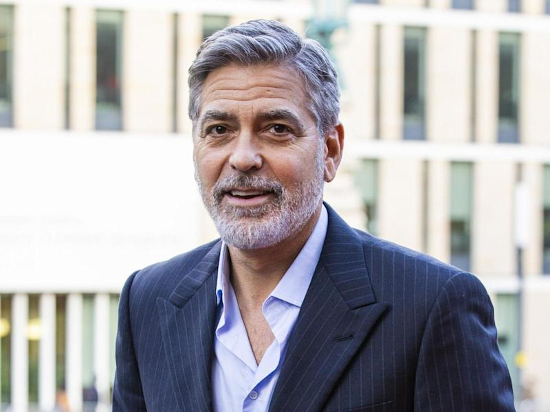 George Clooney: Getty Images