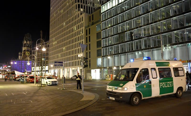 Police evacuated a Christmas market in Berlin