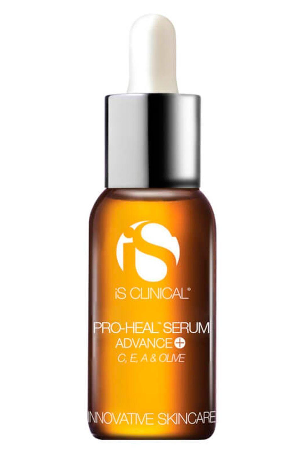 "<p><a class=""link rapid-noclick-resp"" href=""https://www.effortlessskin.com/p-3182-pro-heal-serum-advance-plus.aspx"" rel=""nofollow noopener"" target=""_blank"" data-ylk=""slk:buy now"">buy now</a></p><p>""Vitamin C is an important ingredient for women to look out for in their 20's. Not only does it help protect the skin from sun damage which can cause premature wrinkles, but it also promotes collagen production and evens out the skin tone, so it's great for keeping your complexion looking younger for longer."" Says Dr Preema Vig of the <a href=""http://drpreema.com/"" rel=""nofollow noopener"" target=""_blank"" data-ylk=""slk:Dr Preema London Clinic"" class=""link rapid-noclick-resp"">Dr Preema London Clinic</a>.</p><p>""I use the iS Clinical Pro Heal Serum Advance+ which features scientifically advanced Vitamin C time release technology in a 15% concentration - it delivers anti-oxidant protection and exceptional healing properties."" Says Dr Preema.<br></p>"