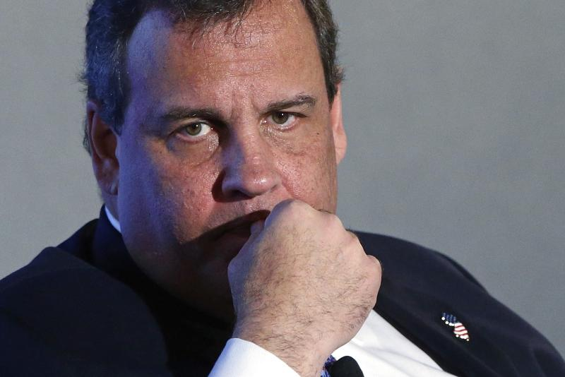 New Jersey Governor Chris Christie (R-NJ) listens during an onstage interview at the 2014 Peterson Foundation Fiscal Summit in Washington in this file photo taken May 14, 2014. The New Jersey state Assembly on Thursday sent Governor Chris Christie a gun control bill that would limit the capacity of gun ammunition magazines, but it was unclear whether the Republican governor would sign the measure into law. REUTERS/Jonathan Ernst/Files (UNITED STATES - Tags: POLITICS BUSINESS)