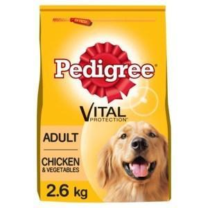 PEDIGREE® Adult Complete Dry Dog Food with Chicken and Vegetables (2.6kg) (PRNewsfoto/Mars Petcare UK)