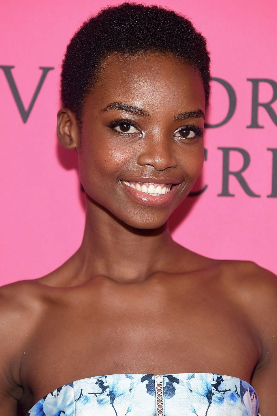 <p>Model Maria Borges proves sometimes the simplest cut is the chicest.</p>