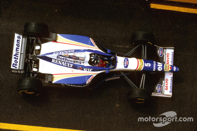 "Williams FW18 (1996) <span class=""copyright"">LAT Images</span>"