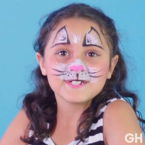 "<p>Not even a headband is required for this cute cat costume, thanks to ears drawn on the forehead.</p><p><strong><a class=""link rapid-noclick-resp"" href=""https://www.amazon.com/Artsy-Fartsy-Professional-Applicators-Compliant/dp/B074YT7CGM/ref=sr_1_12?tag=syn-yahoo-20&ascsubtag=%5Bartid%7C10055.g.2599%5Bsrc%7Cyahoo-us"" rel=""nofollow noopener"" target=""_blank"" data-ylk=""slk:SHOP FACE PAINTING KITS"">SHOP FACE PAINTING KITS</a></strong></p><p><strong>RELATED:</strong> <a href=""https://www.goodhousekeeping.com/holidays/halloween-ideas/g385/popular-kids-halloween-costumes/"" rel=""nofollow noopener"" target=""_blank"" data-ylk=""slk:20+ Easy and Creative Halloween Costumes for Kids"" class=""link rapid-noclick-resp"">20+ Easy and Creative Halloween Costumes for Kids</a></p><p><a href=""https://www.instagram.com/p/BakeqxZArNK/&hidecaption=true"" rel=""nofollow noopener"" target=""_blank"" data-ylk=""slk:See the original post on Instagram"" class=""link rapid-noclick-resp"">See the original post on Instagram</a></p>"