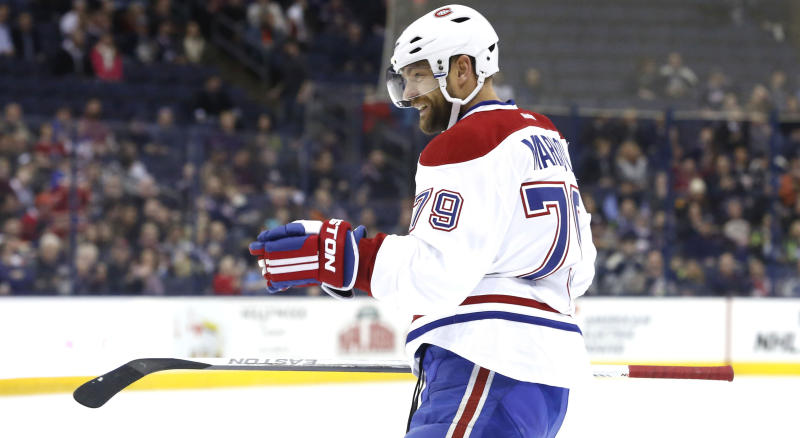 Markov wants to return to National Hockey League , preferably Canadiens