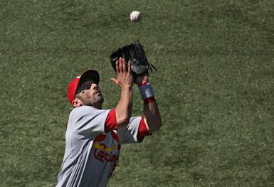 Matt Carpenter would bring unique value to the NL roster. (Getty Images)