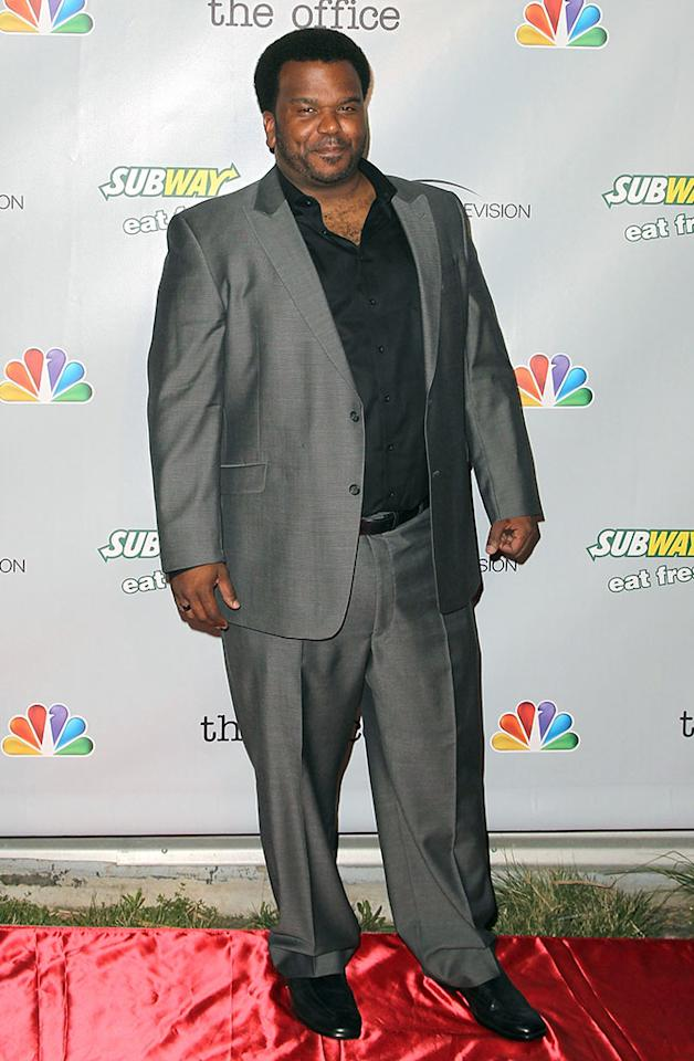 "Craig Robinson arrives at ""The Office"" series finale wrap party at Unici Casa Gallery on March 16, 2013 in Culver City, California."