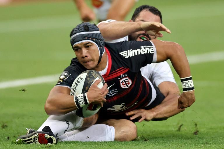 Cheslin Kolbe scored the first drop goal of his career in Friday's Top 14 final win