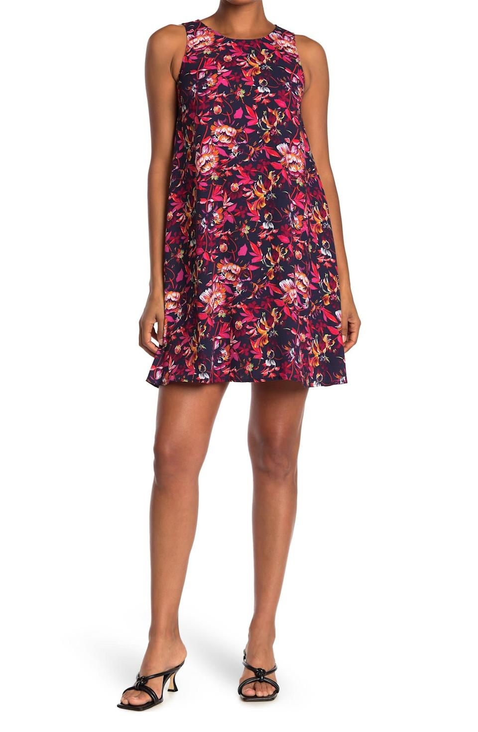 """<h2>Halogen A-Line Dress</h2><br>Flirty, flowery, flowy: a summer frock trifecta. The lightweight fabric of this printed dress makes it a fun warm-weather favorite. <br><br><strong>The Hype:</strong> 4 out of 5 stars; 190 reviews on <a href=""""https://www.nordstromrack.com/s/halogen-a-line-dress-regular-petite/4471803"""" rel=""""nofollow noopener"""" target=""""_blank"""" data-ylk=""""slk:NordstromRack.com"""" class=""""link rapid-noclick-resp"""">NordstromRack.com</a><br><br><strong>What They're Saying:</strong> """"Fabric is light and will be cool for Texas hot summers. Very nice pattern and will work well for my extra-wide hips and bust. I especially like the armholes aren't too large like some XL tops. Will be very comfortable. I've bought two Halogen dresses."""" — Bclearnow, NordstromRack.com reviewer<br><br><strong>Halogen</strong> ® A-Line Dress, $, available at <a href=""""https://go.skimresources.com/?id=30283X879131&url=https%3A%2F%2Fwww.nordstromrack.com%2Fs%2Fhalogen-a-line-dress-regular-petite%2F4471803"""" rel=""""nofollow noopener"""" target=""""_blank"""" data-ylk=""""slk:Nordstrom Rack"""" class=""""link rapid-noclick-resp"""">Nordstrom Rack</a>"""
