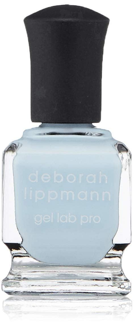 <p>How stunning is this pale sky blue from <span>Deborah Lippmann Nail Polish in Above The Clouds</span> ($20)!?</p>