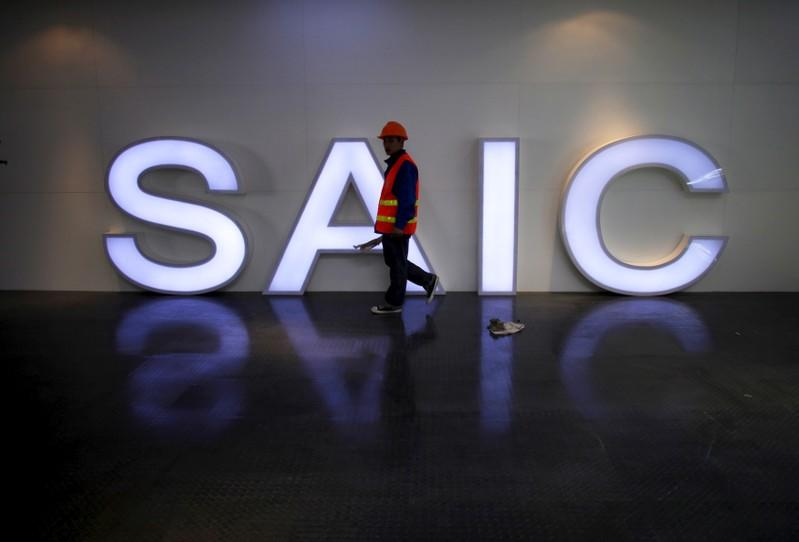 China's biggest automaker SAIC aims to triple overseas sales by 2025