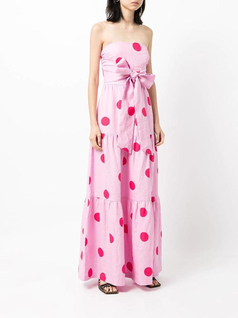<p>This <span>Rebecca Vallance Dalia Maxi Dress</span> ($501) is fun and whimsical. We like to bring a little lightness to a fall event, and this does just that.</p>