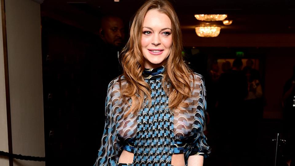 Lindsay opened up about past abuse. Copyright: [Rex]